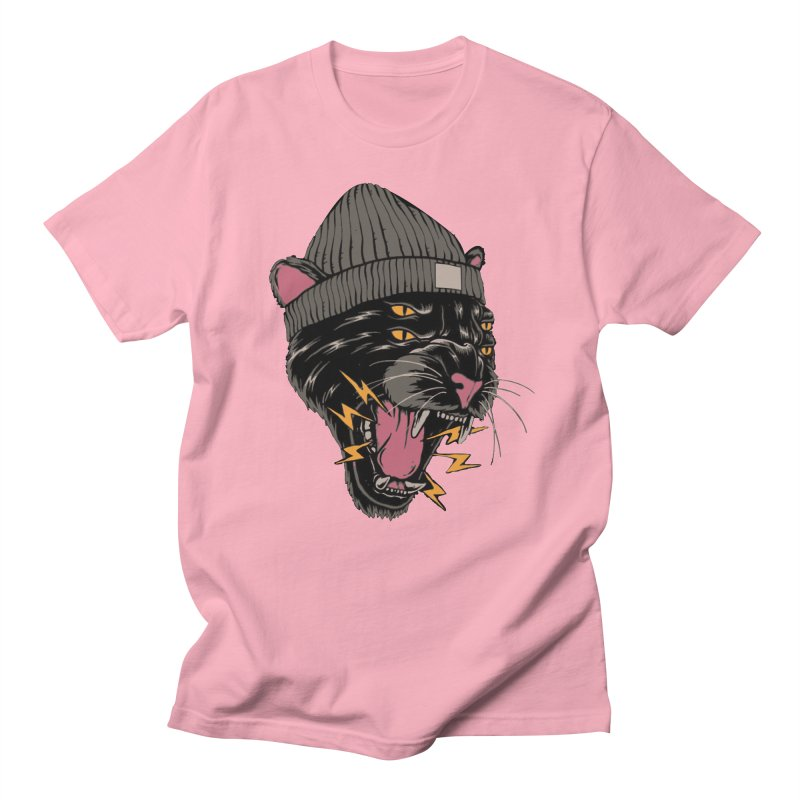Urban panther Women's Regular Unisex T-Shirt by daniac's Artist Shop