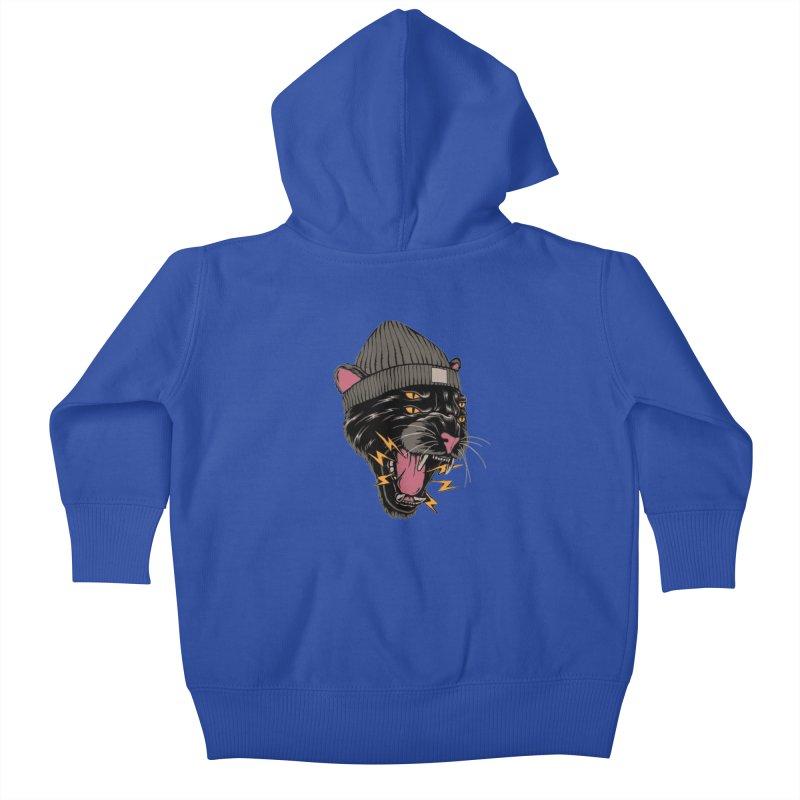 Urban panther Kids Baby Zip-Up Hoody by daniac's Artist Shop