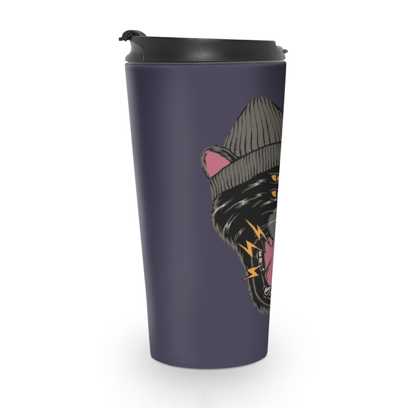 Urban panther Accessories Travel Mug by daniac's Artist Shop