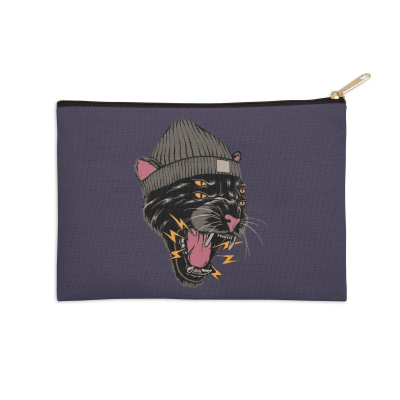 Urban panther Accessories Zip Pouch by daniac's Artist Shop
