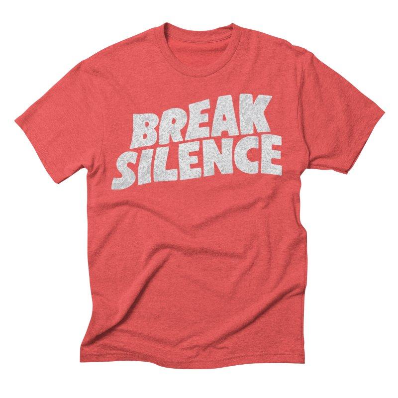 Break the silence Men's Triblend T-Shirt by daniac's Artist Shop
