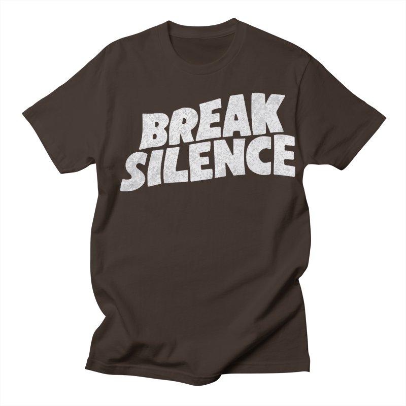 Break the silence Men's Regular T-Shirt by daniac's Artist Shop