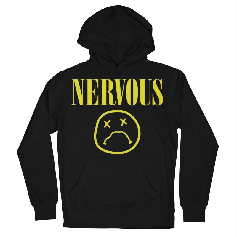 Nervous Women's French Terry Pullover Hoody by daniac's Artist Shop