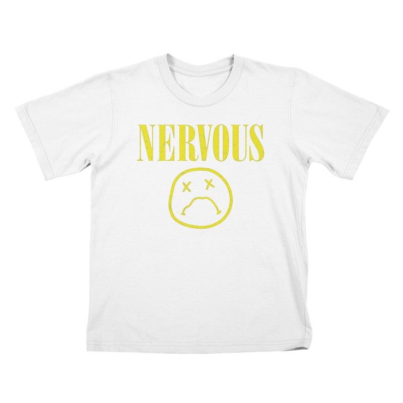 Nervous Kids T-Shirt by daniac's Artist Shop