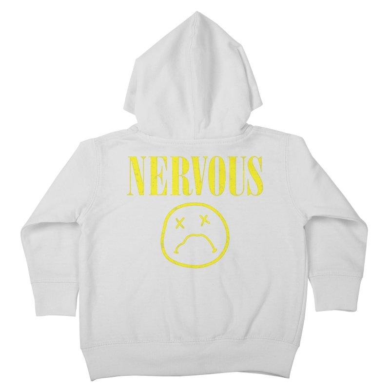 Nervous Kids Toddler Zip-Up Hoody by daniac's Artist Shop