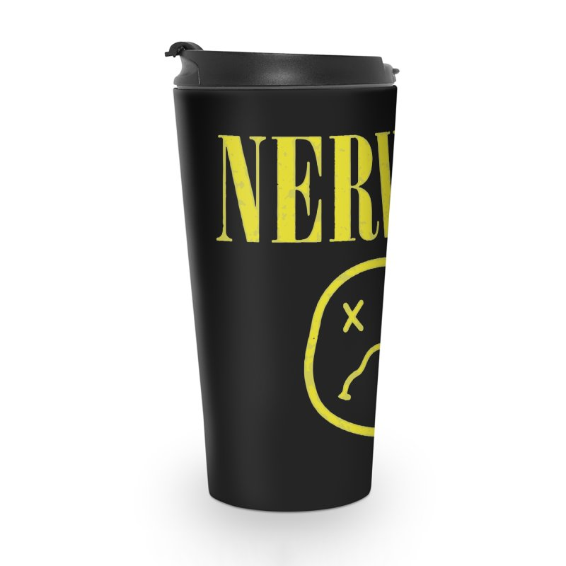 Nervous Accessories Travel Mug by daniac's Artist Shop