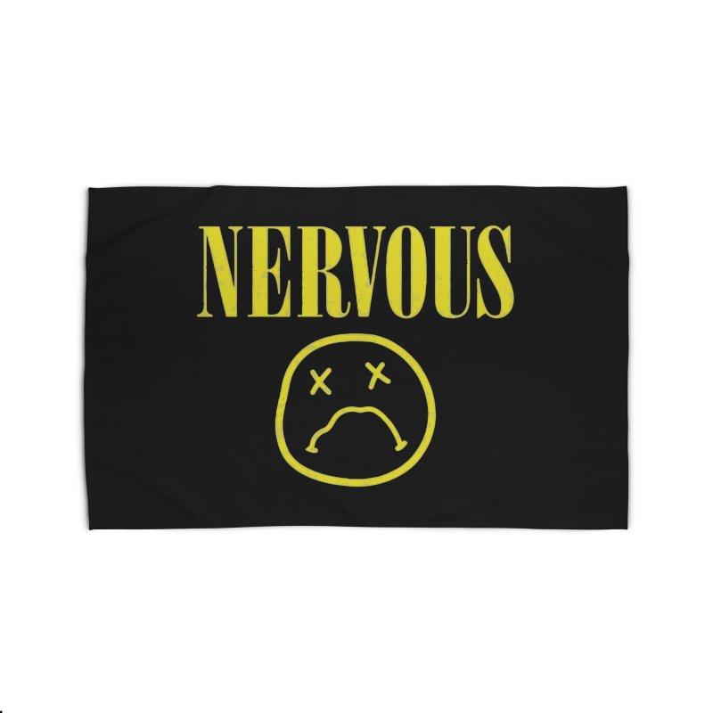 Nervous Home Rug by daniac's Artist Shop