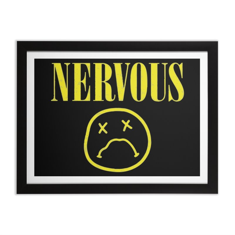Nervous Home Framed Fine Art Print by daniac's Artist Shop