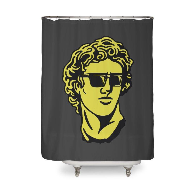 Dammmn david Home Shower Curtain by daniac's Artist Shop