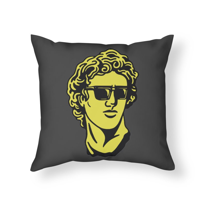 Dammmn david Home Throw Pillow by daniac's Artist Shop