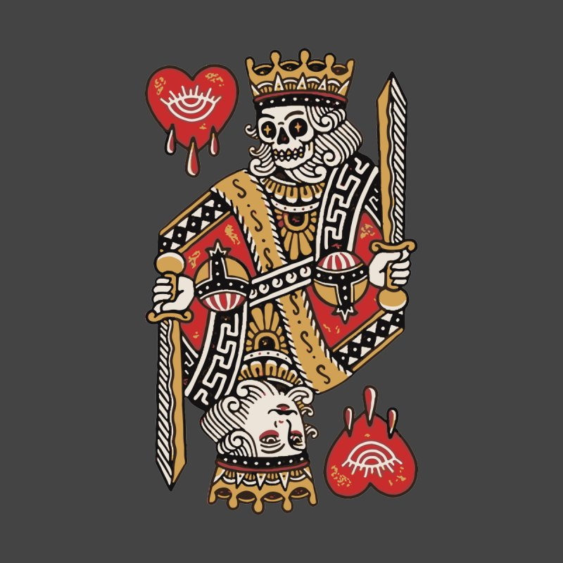 King heart by daniac's Artist Shop