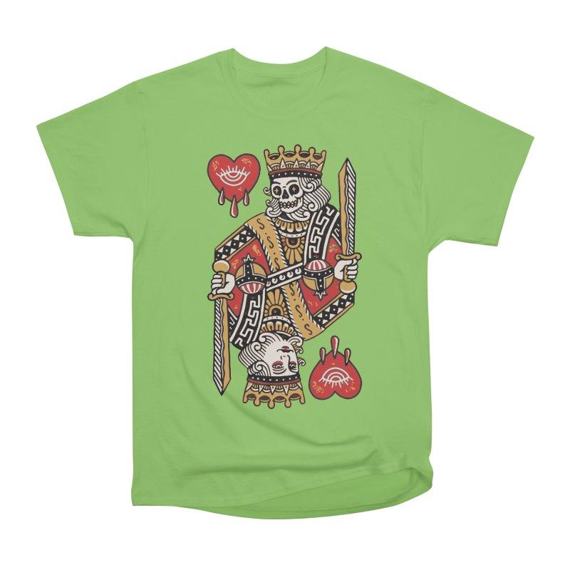King heart Women's Heavyweight Unisex T-Shirt by daniac's Artist Shop