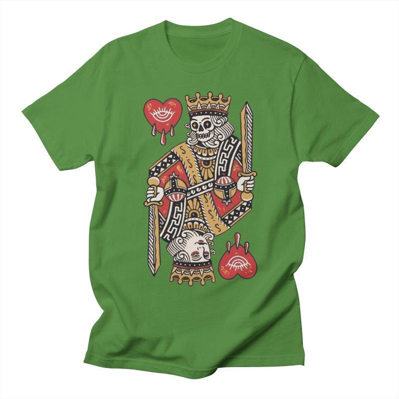 King heart Men's Regular T-Shirt by daniac's Artist Shop