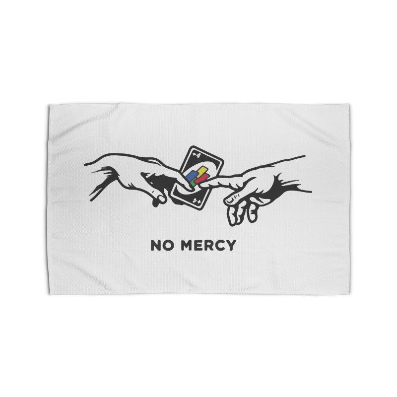 No mercy Home Rug by daniac's Artist Shop