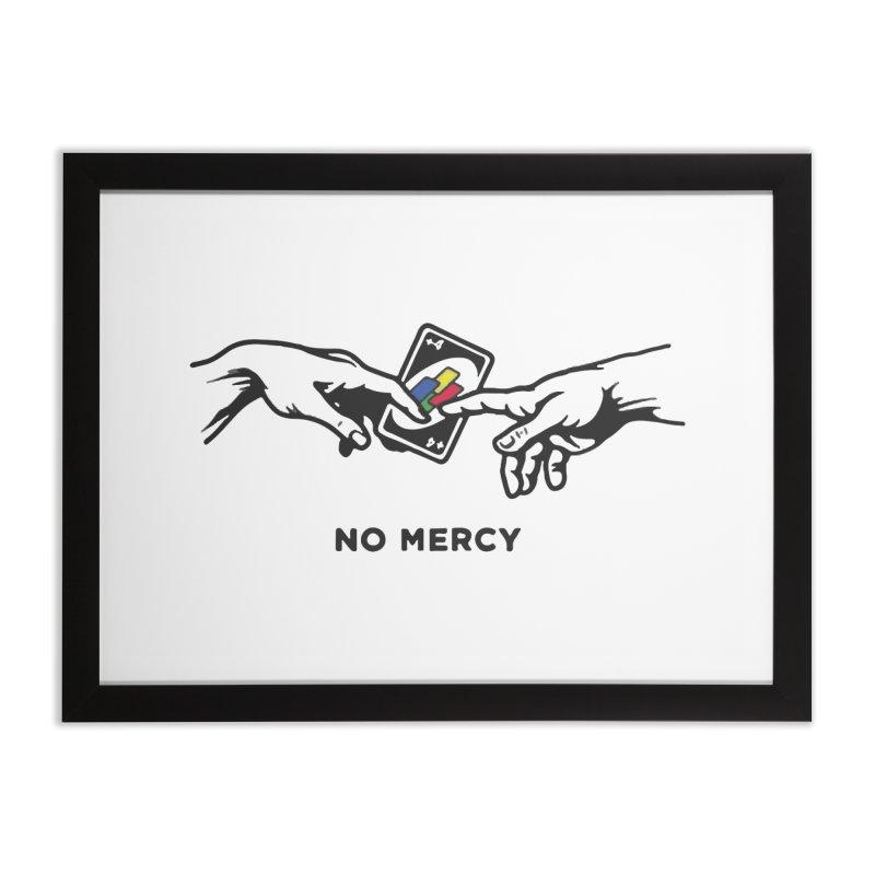 No mercy Home Framed Fine Art Print by daniac's Artist Shop