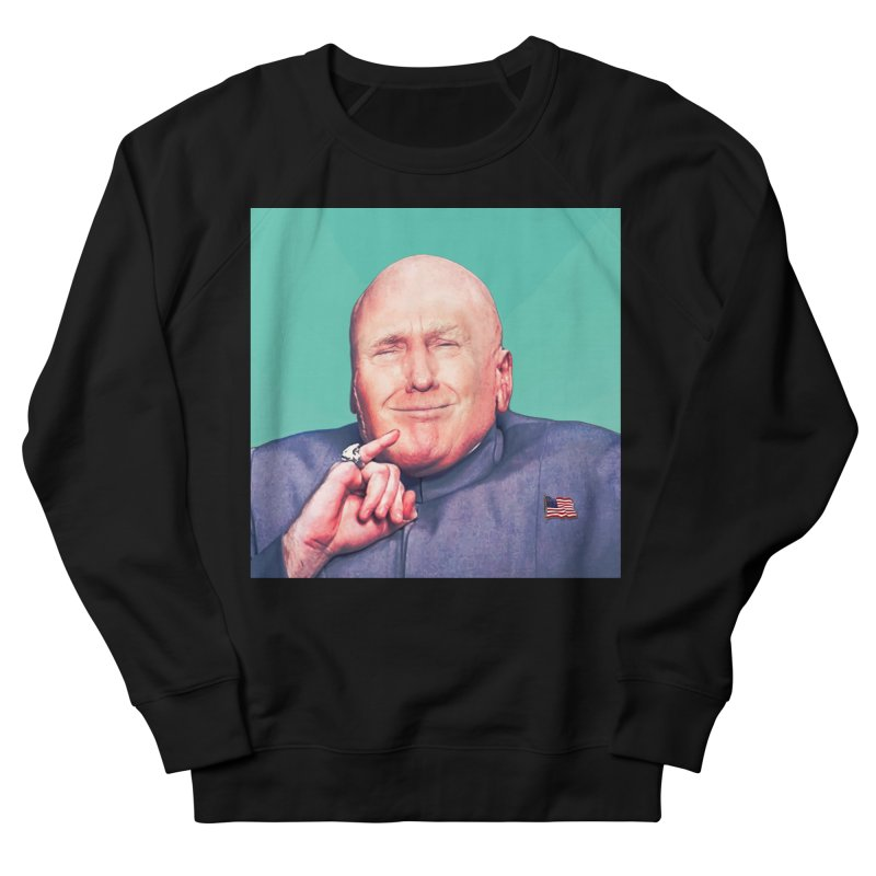 President Malito Men's French Terry Sweatshirt by daniac's Artist Shop