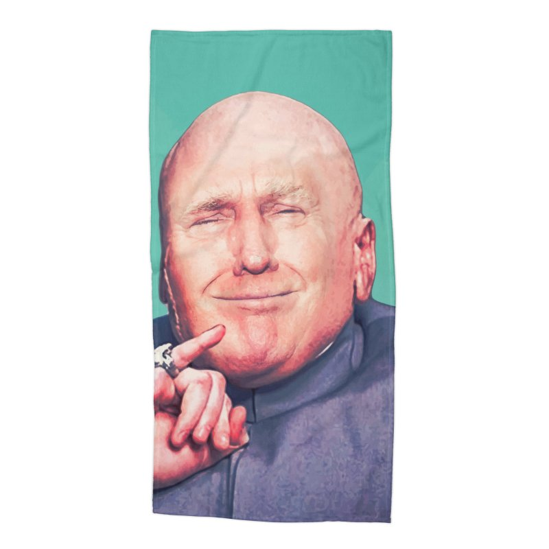 President Malito Accessories Beach Towel by daniac's Artist Shop