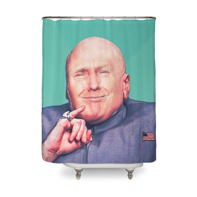 President Malito Home Shower Curtain by daniac's Artist Shop