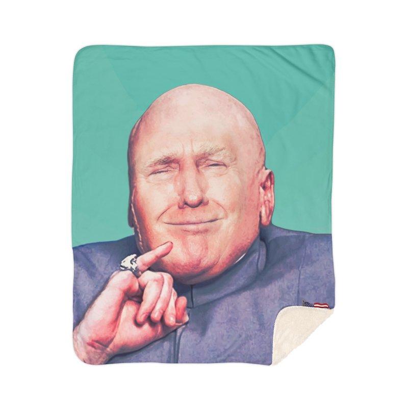 President Malito Home Sherpa Blanket Blanket by daniac's Artist Shop