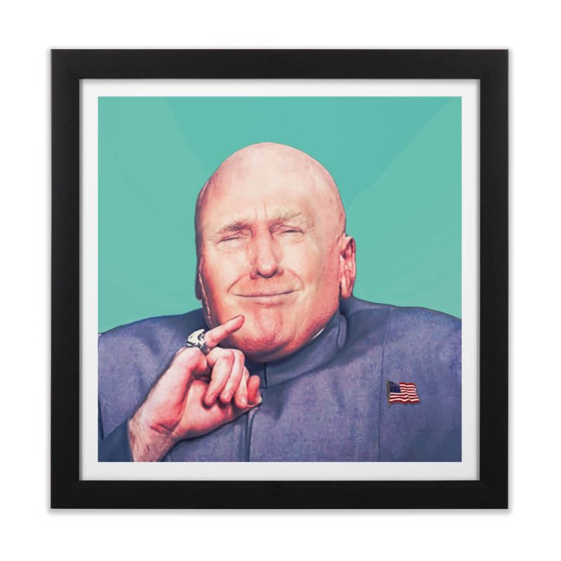 President Malito Home Framed Fine Art Print by daniac's Artist Shop