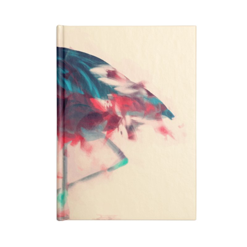 Born Flamingo Accessories Notebook by daniac's Artist Shop