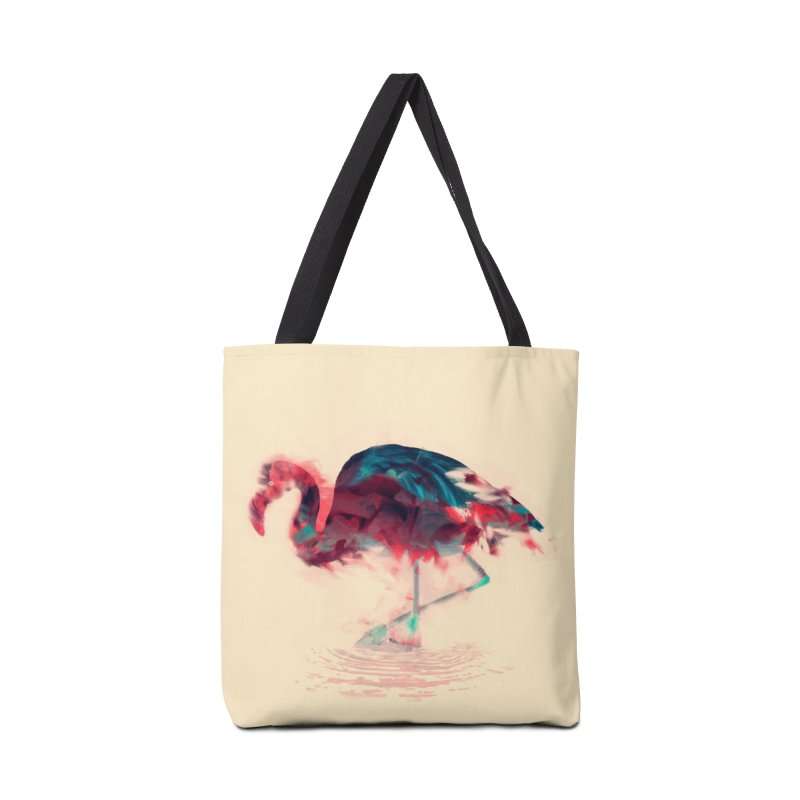 Born Flamingo Accessories Tote Bag Bag by daniac's Artist Shop