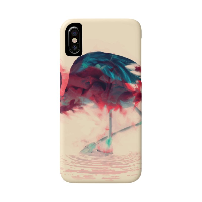 Born Flamingo Accessories Phone Case by daniac's Artist Shop
