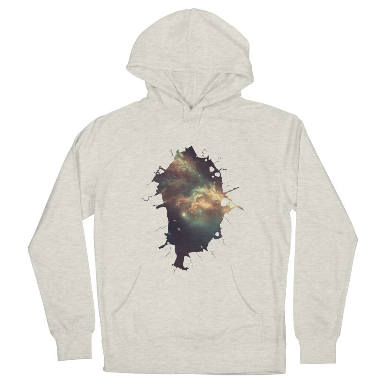 Into Space Women's French Terry Pullover Hoody by daniac's Artist Shop