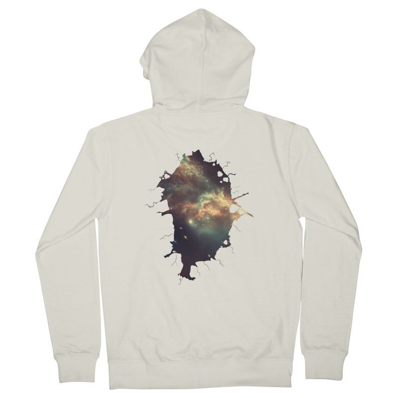 Into Space Women's French Terry Zip-Up Hoody by daniac's Artist Shop