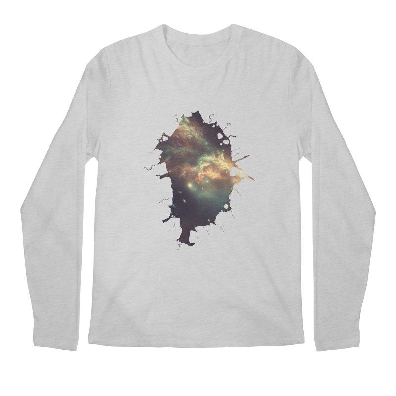 Into Space Men's Regular Longsleeve T-Shirt by daniac's Artist Shop