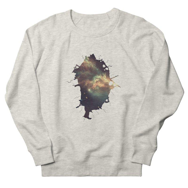 Into Space Women's French Terry Sweatshirt by daniac's Artist Shop
