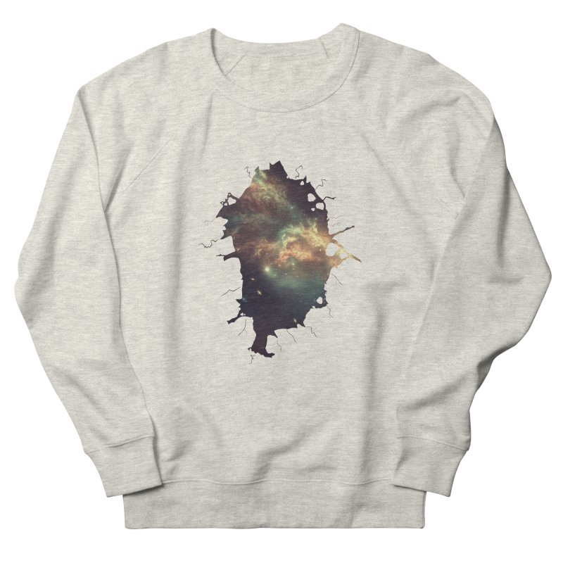 Into Space Men's French Terry Sweatshirt by daniac's Artist Shop