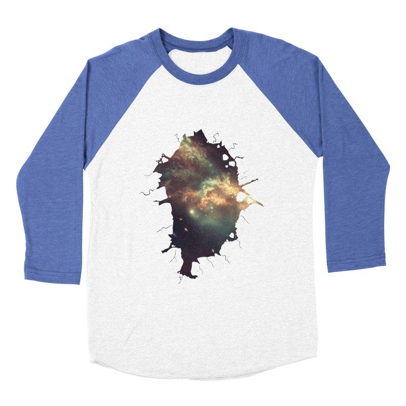 Into Space Men's Baseball Triblend Longsleeve T-Shirt by daniac's Artist Shop