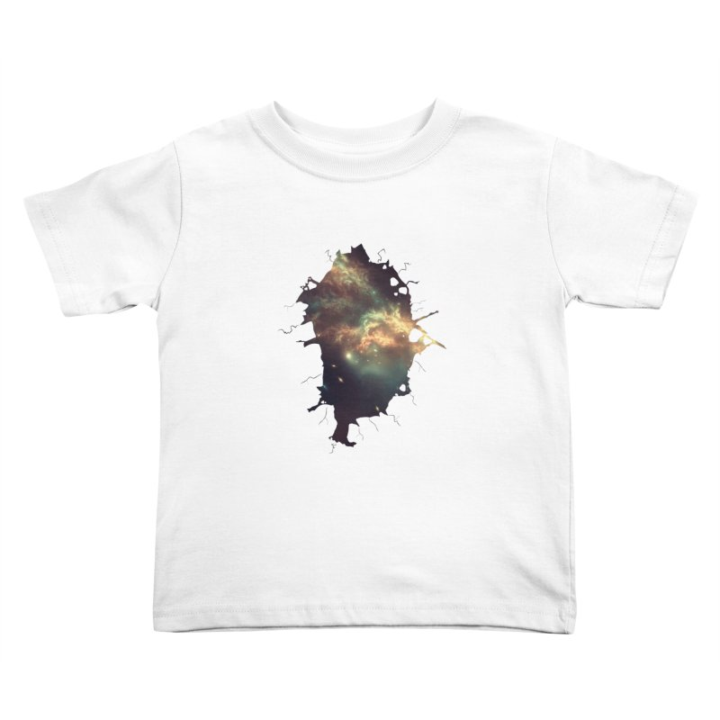 Into Space Kids Toddler T-Shirt by daniac's Artist Shop