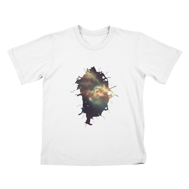 Into Space Kids T-Shirt by daniac's Artist Shop