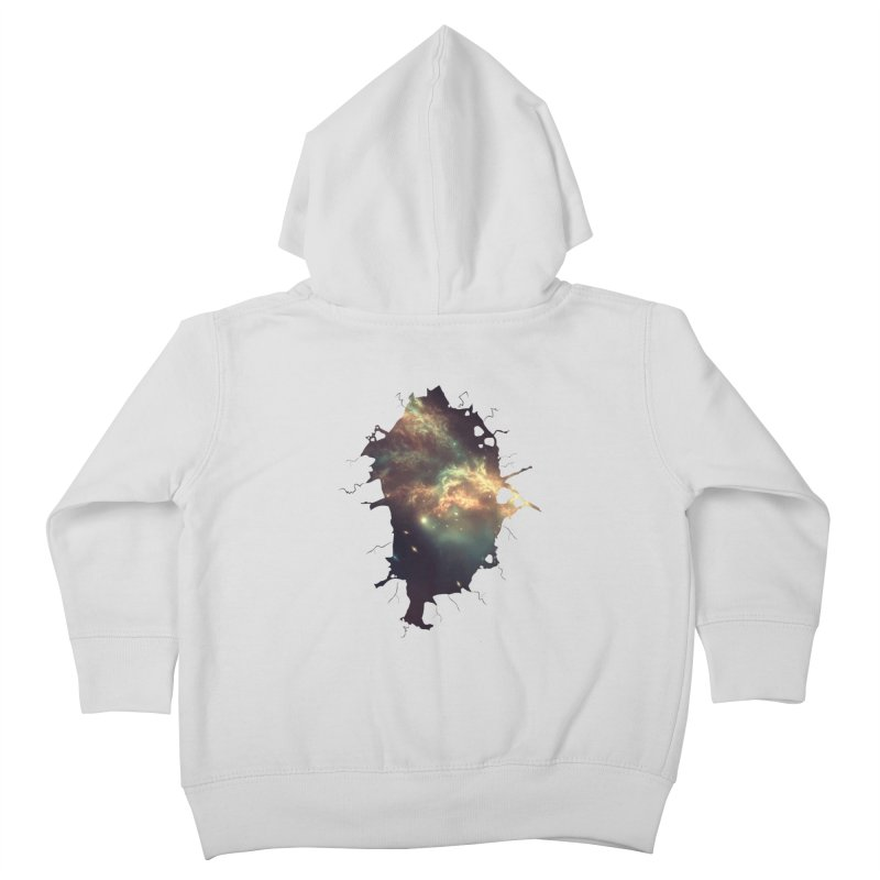 Into Space Kids Toddler Zip-Up Hoody by daniac's Artist Shop