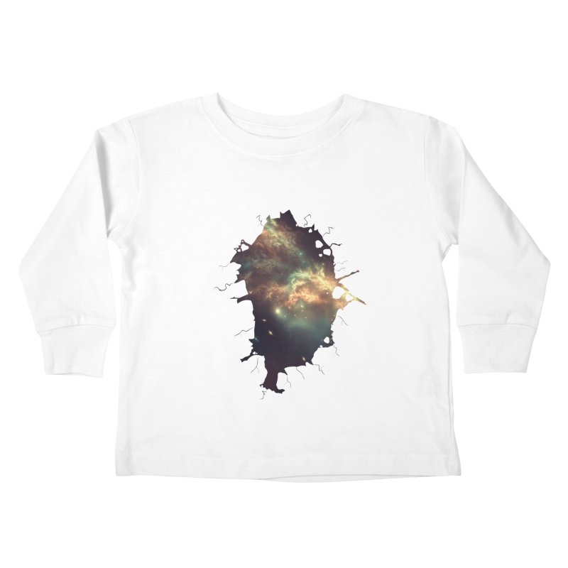 Into Space Kids Toddler Longsleeve T-Shirt by daniac's Artist Shop