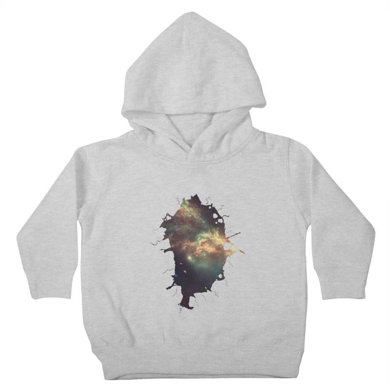 Into Space Kids Toddler Pullover Hoody by daniac's Artist Shop