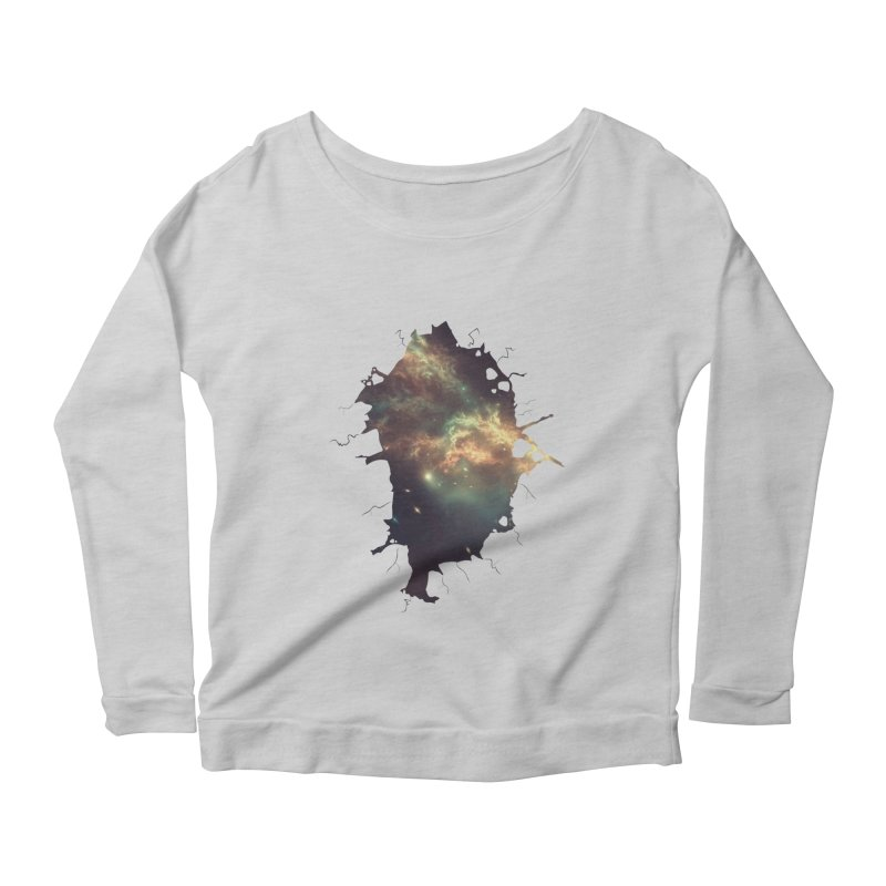Into Space Women's Scoop Neck Longsleeve T-Shirt by daniac's Artist Shop