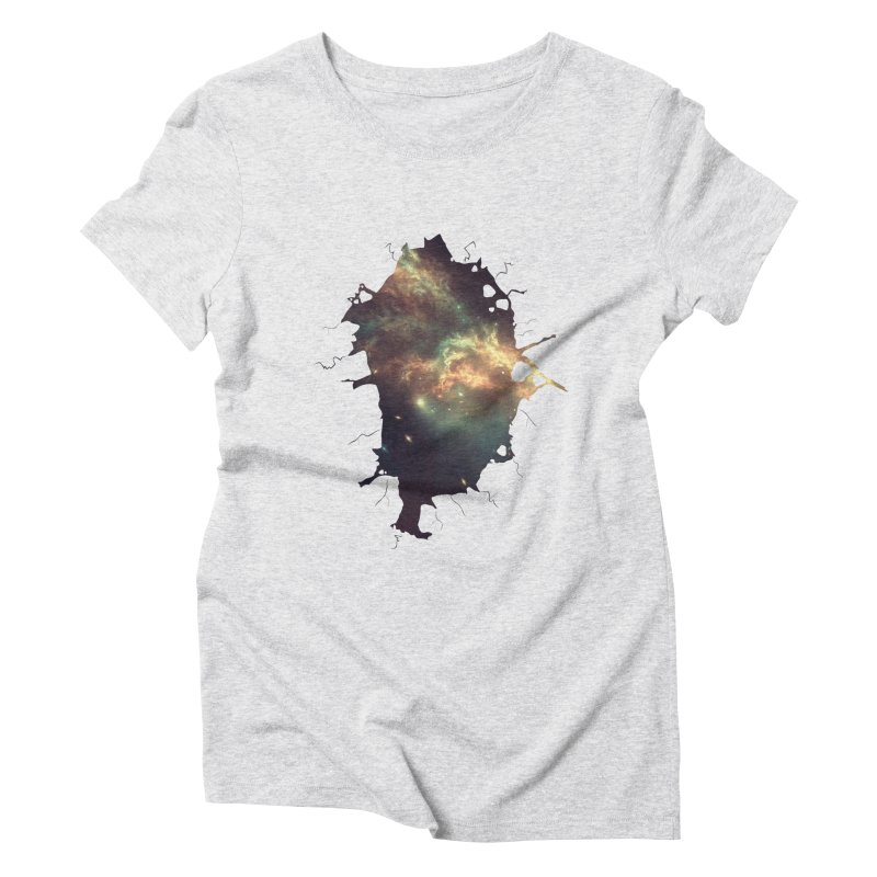 Into Space Women's Triblend T-Shirt by daniac's Artist Shop