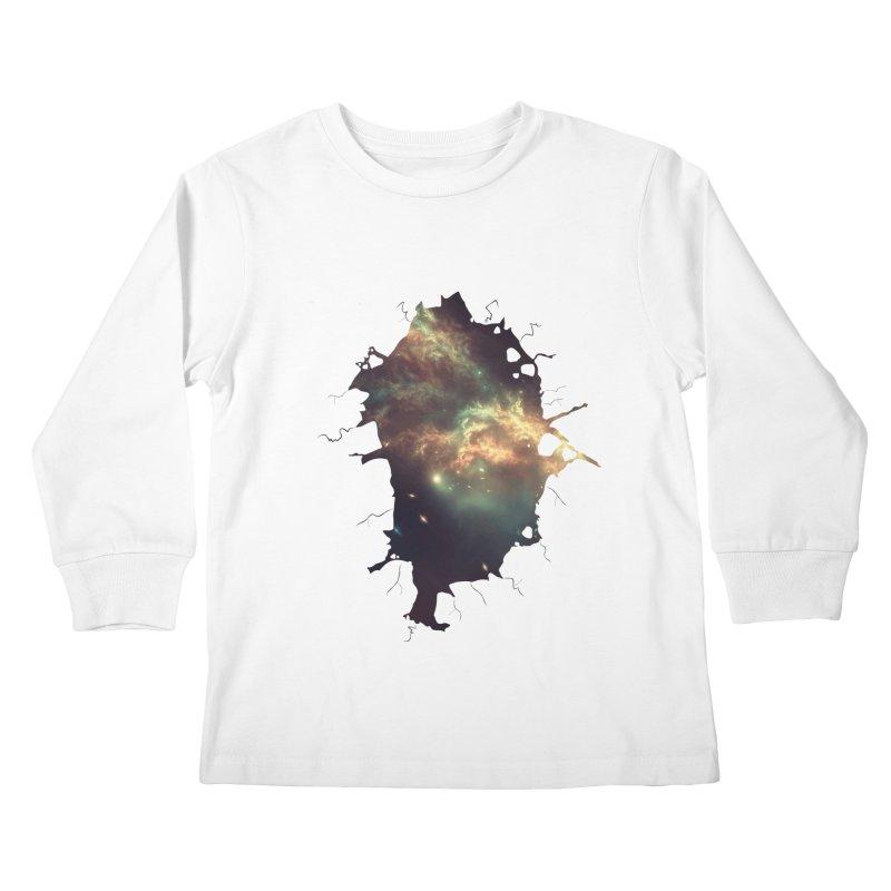 Into Space Kids Longsleeve T-Shirt by daniac's Artist Shop