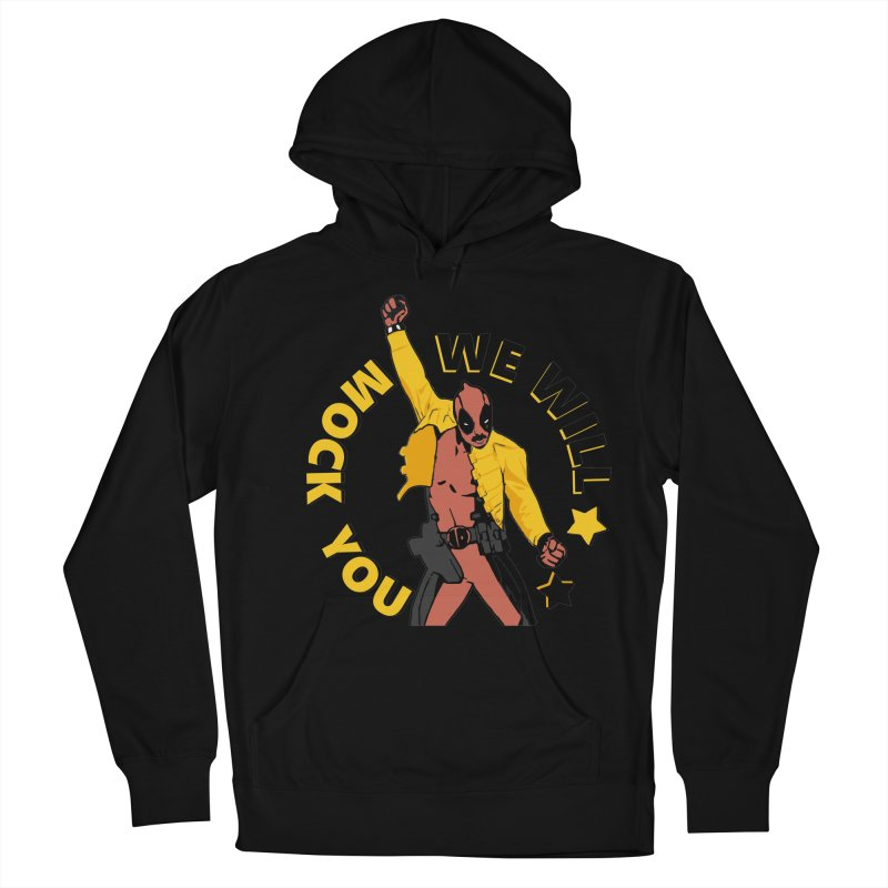 We will mock you Men's French Terry Pullover Hoody by daniac's Artist Shop