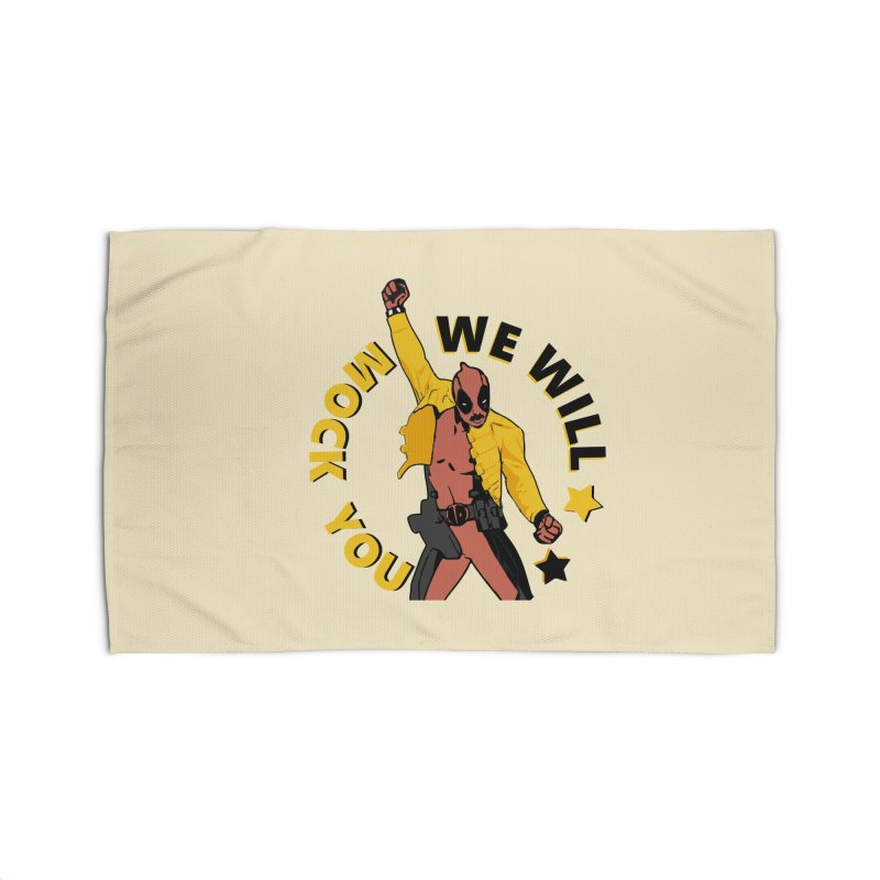 We will mock you Home Rug by daniac's Artist Shop