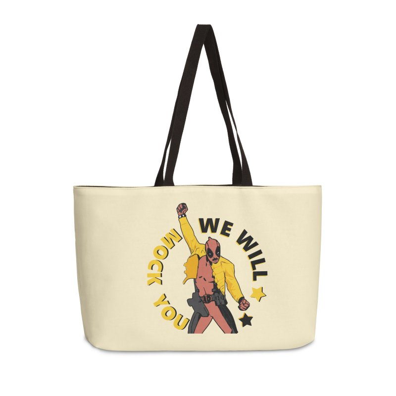 We will mock you Accessories Weekender Bag Bag by daniac's Artist Shop