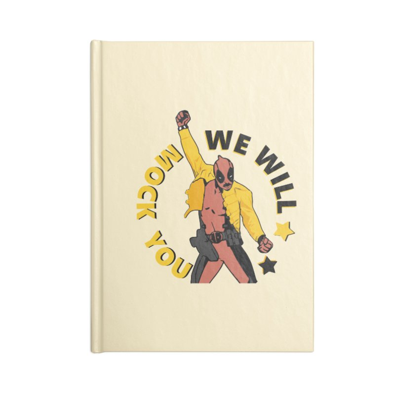 We will mock you Accessories Blank Journal Notebook by daniac's Artist Shop