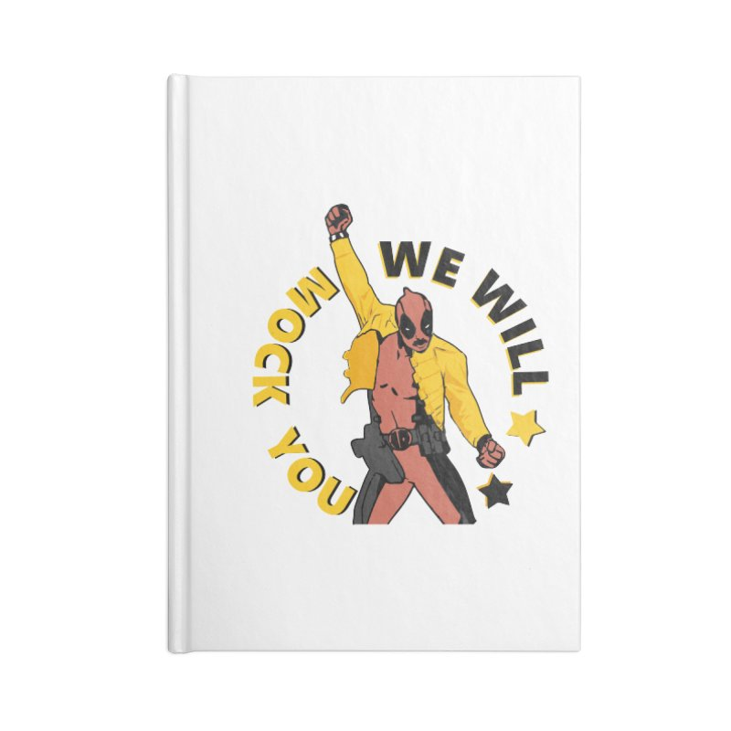 We will mock you Accessories Notebook by daniac's Artist Shop