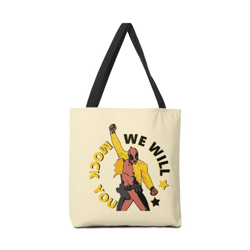 We will mock you Accessories Tote Bag Bag by daniac's Artist Shop