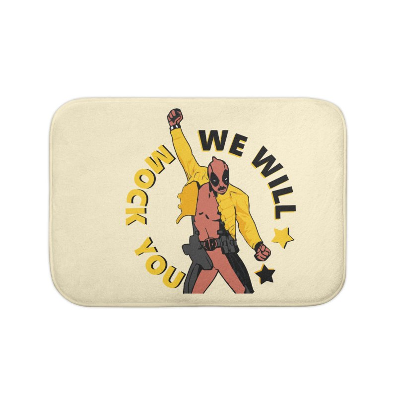 We will mock you Home Bath Mat by daniac's Artist Shop