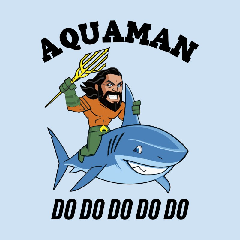 Aquaman do do do Home Stretched Canvas by daniac's Artist Shop