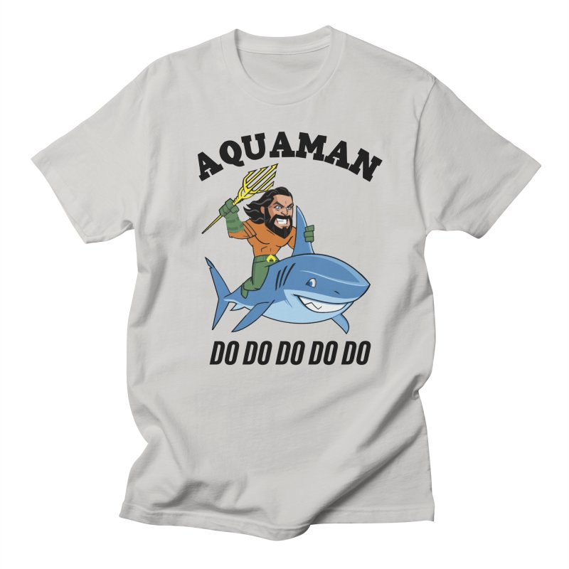 Aquaman do do do Women's Regular Unisex T-Shirt by daniac's Artist Shop
